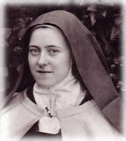 Image result for st therese picking up a pin with love